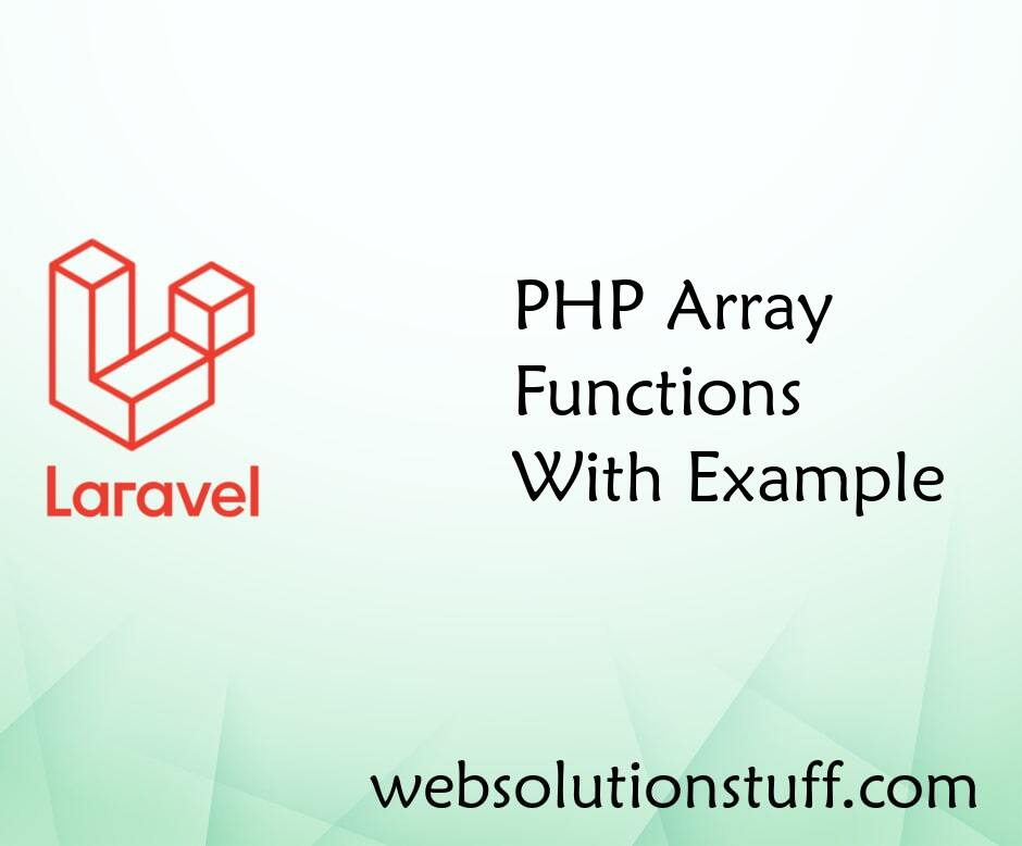 PHP Array Functions With Example