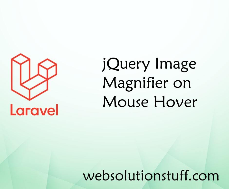 jQuery Image Magnifier on Mouse Hover